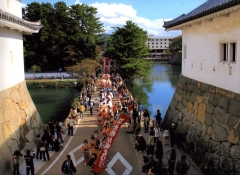 Parade of Little Edo Hikone Castle